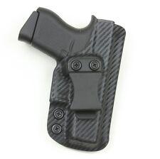 Badger State Holsters- Glock 43 IWB Carbon Fiber Custom Kydex Holster G43