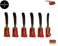 "Sagaform:  set 6 spalmaburro-cioccolata -""Tomato """