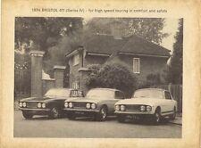 Bristol 411 Series IV 1973-74 UK Market Foldout Sales Brochure