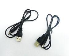2 X New USB 2.0 to DC 3.5mm Barrel Connector Jack Power Cable 5v K19 Better Qua