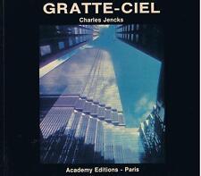 CHARLES JENCKS GRATTE-CIEL 1980 ACADEMY EDITIONS TRES BON ETAT