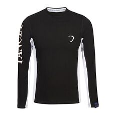 T-SHIRT Tee Lancia Delta Mens Longsleeve Rally NEW! Embroidered Black SMALL
