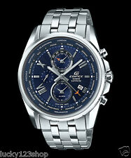 EFB-301JD-2A Blue Casio Edifice Men's Watces Sapphire Glass + Made in japan New
