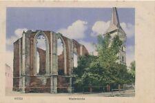 Ak, Weida, Wiedenkirche, (G)1834