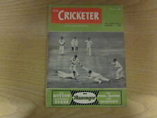 June 28th 1952, THE CRICKETER, Vinoo Mankad, Jim Laker, Robert Wood, Dennis Cox.