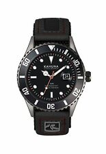 KAHUNA MEN'S BLACK DIAL RIP TAPE STRAP SPORTS STYLE WATCH - KUV0004G - RRP:£45