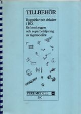 catalogo PERL MODELL 2001 TILLBEHÖR HO Ersatzteile             SV    bb