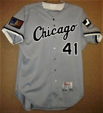 Chicago White Sox Jackie Brown 1994 Road Mlb Jersey