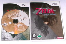 "Nintendo Wii jeu ""THE LEGEND OF ZELDA TWILIGHT PRINCESS"" première édition"