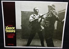 Shock Troops Lobby Card - Harry Saltzman - Nazis (C-8) 1968