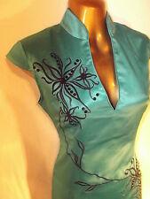 Oriental Jade Black Elegance Chinese dress 10 12