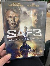 SAF3 (DVD, 2018) Dolph Lundgren English SEALED