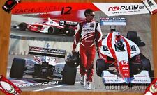 2013 Zach Veach Andretti Autosport Replay SEMA Show Promo Indy Lights poster