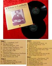 2LP A Tribute to Leadbelly Arlo Guthrie Pete Seeger