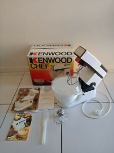 Vintage Kenwood Chef Mixer A901E And Accessories BOXED