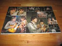 1981 BEATLES Poster PAUL McCARTNEY JOHN LENNON GEORGE HARRISON RINGO STARR