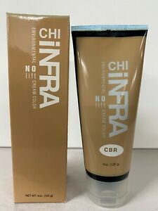 Farouk CHI infra evironmental NO lift cream color 4 oz CBR Chocolate Brown