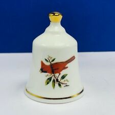 Danbury Mint state bird Bell porcelain collection Ohio Cardinal Oh fine china Us