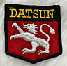 Vintage 60s 70s DATSUN Embroidered Sew On Patch Auto Racing VERY RARE Pre Nissan