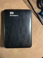 WD My Passport 320GB USB 3.0 Portable External Hard Drive  WDBKXH3200ABK-01
