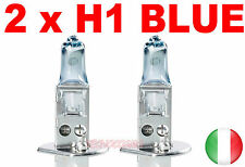COPPIA LAMPADE ALOGENE H1 LAMPADINE FARI RICAMBIO AUTO 12V 55W EFFETTO XENON
