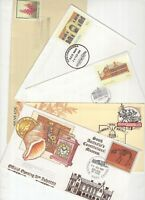 Australia prepaid cover selection with pictorial cancels