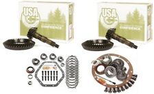 """1998-2010 Chevy 3500 GM 10.5"""" 9.25"""" IFS 4.56 Ring and Pinion Master USA Gear Pkg"""