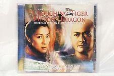 Crouching Tiger Hidden Dragon Original Movie Soundtrack NEW STILL SEALED!