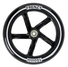 Frenzy Black Logo - 180mm Single Scooter Wheel