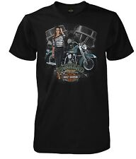 "Orig. Harley-Davidson Dealer T-Shirt  ""PANHEAD PIN-UP"" *3029348506 XL* Gr. XL"