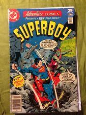 Adventure Comics #454 Fn 1977 Superboy Aqualad