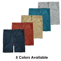 """Timberland Men's Webster Lake Twill (9"""" Inseam) Chino Shorts A17IN"""