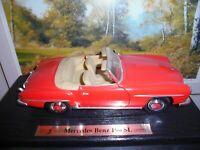 Maisto Special edition.Mercedes-Benz 190 Sl 1955 1:18 scale model car.