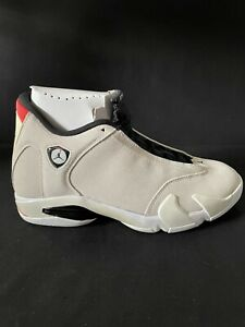 Nike Air Jordan 14 XIV Retro Desert Sand Beige Black Men Size 9.5 New 487471-021