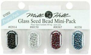 Mill Hill Glass Seed Bead Mini-Pack - 01002