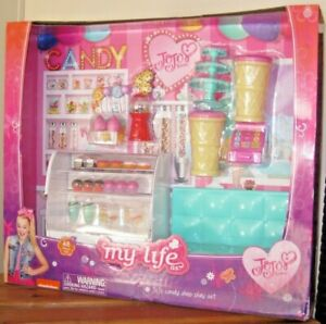 BRAND NEW! My Life Jojo Siwa Candy Shop Store Play Set Girl's Toy Present Gift