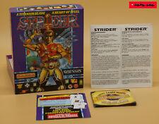 COMMODORE AMIGA - STRIDER - 1989 - CAPCOM - nur OVP & ANLEITUNG !! NO DISK