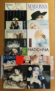 "MADONNA Collection 5 x LP & 12 x 12"" VIRGIN FIRST PRAYER PAPA GROOVE JOB LOT"
