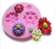 DAISY FLOWER SILICONE MOULD-DAISIES MOLD-FONDANT/CHOCOLATE-SUGAR CRAFT/DAISIES