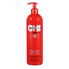 (€ 47,22/1L) Chi Farouk fer Guard 44 thermal protecting soie Shampoing 739ml