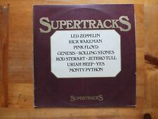 SUPERTRACKS led zeppelin/pink floyd/uriah heep/jethro tull/yes/genesis/stones LP