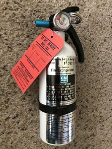 BRAND NEW Repro GM Fire Extinguisher Chevrolet Buick Pontiac Olds Cadillac 67 69