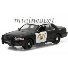 GREENLIGHT 42760C FORD CROWN VICTORIA POLICE INTERCEPTOR CHP HIGHWAY PATROL 1/64