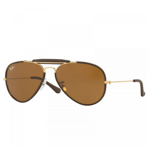 NEW AUTHENTIC RAY BAN RB3422Q - Brown