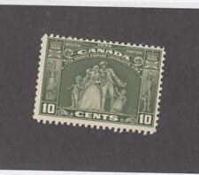 CANADA (MK3393) # 209  FVF-MNH  10cts  LOYALISTS STATUE /1934 /OLI-GREEN CAT $70