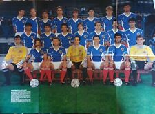 Mega poster football Yugoslavia national team FIFA World Cup Italy 1990 Italia