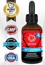 Deer Antler Velvet Spray EXTREME IGF-1   400mg At 43X   One Bottle