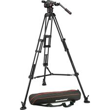 Manfrotto Nitrotech N8 Video Head with 546B Pro Tripod & Carry Bag # MVKN8TWINM