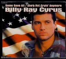 BILLY RAY CYRUS Some Gave All/She's Not Cryin' Anymore  3TR germany CD SINGLE