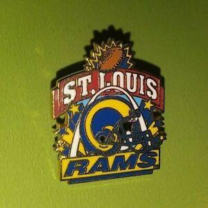 NFL ST. LOUIS RAMS FOOTBALL TEAM LOGO COLLECTIBLE PETER DAVID PIN VINTAGE RARE